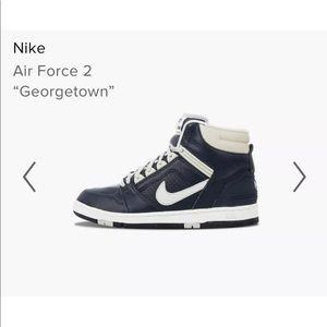 Nike Air Force 2 Georgetown Patrick Ewing 2002